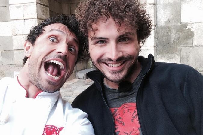 Fort Boyard 2014 : Willy ROVELLI et Maxime MUSQUA (28/05/2014 - W. Rovelli)