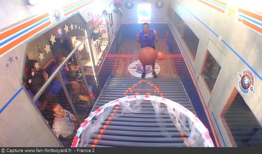 Fort Boyard 2015 : La nouvelle épreuve du Basket