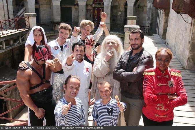 Fort Boyard 2015 - Les personnages de la 26e saison