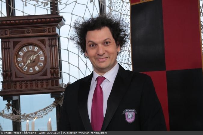 Fort Boyard 2015 - Le magicien Eric Antoine