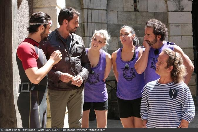 Fort Boyard 2015 - Equipe 3 (11/07/2015)