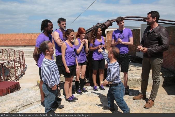 Fort Boyard 2015 - Equipe 8 (14/08/2015)