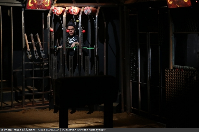 Fort Boyard 2015 - L'épreuve de la Cage