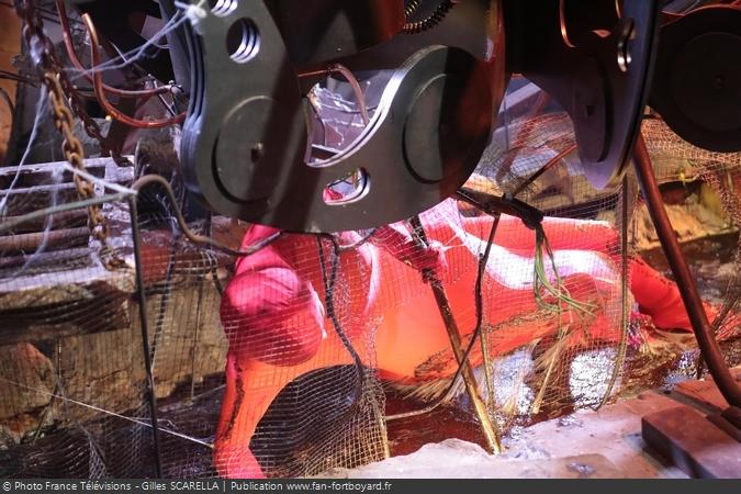 Fort Boyard 2015 - L'épreuve de l'Araignée