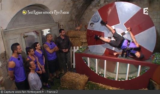 Fort Boyard 2015 : La nouvelle épreuve du Moulin à eau pour les énigmes du Père Fouras