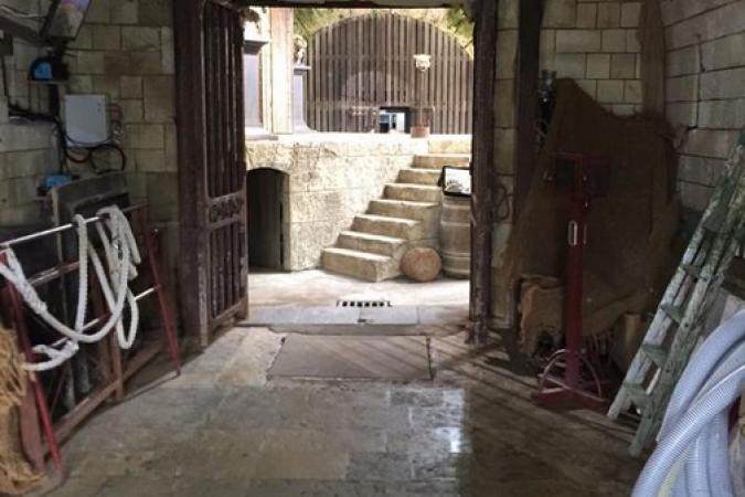 Fort Boyard 2015 : L'entrée du Fort (23/05/2015)