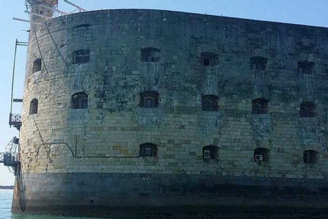 Fort Boyard 2015 : Nouvelles installations extérieures (14/04/2015)