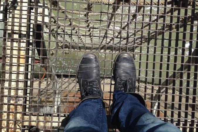 Fort Boyard 2015 : Vue depuis le carrelet (25/05/2015)