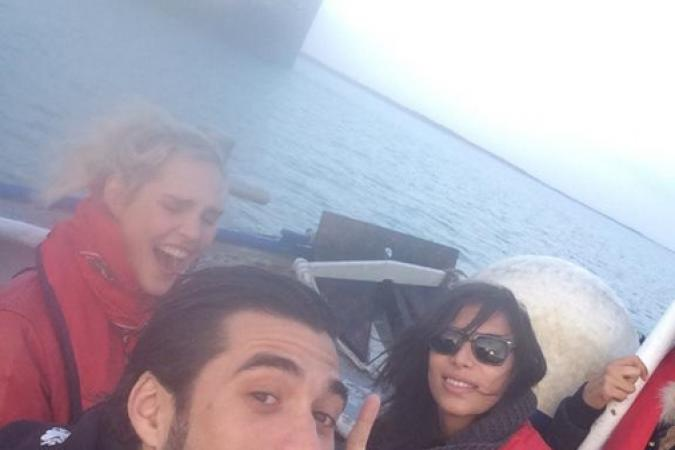 Fort Boyard 2015 : Florent MOTHE, Camille LOU et Zaho (25/05/2015)