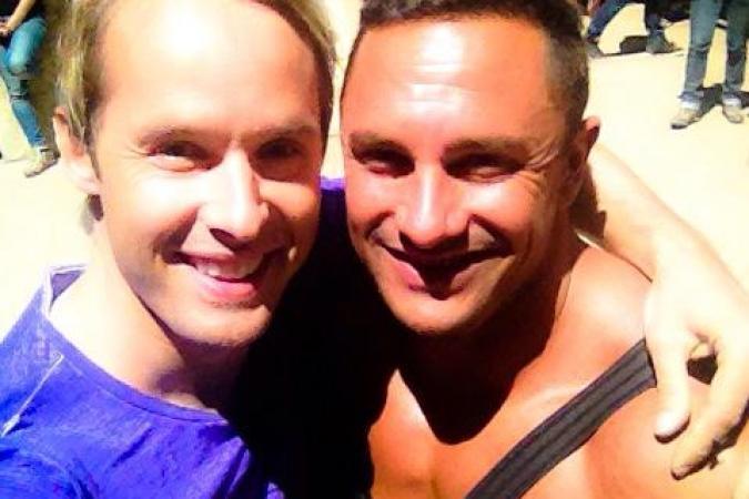 Fort Boyard 2015 : Damien THEVENOT et Mister Boo (27/05/2015)