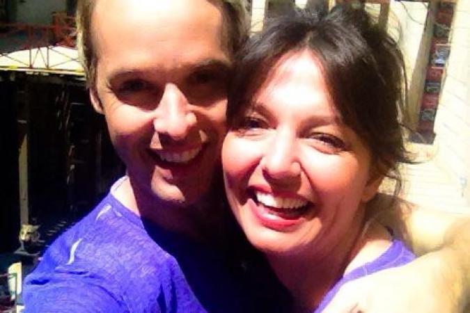 Fort Boyard 2015 : Damien THEVENOT et Carinne TEYSSANDIER (27/05/2015)