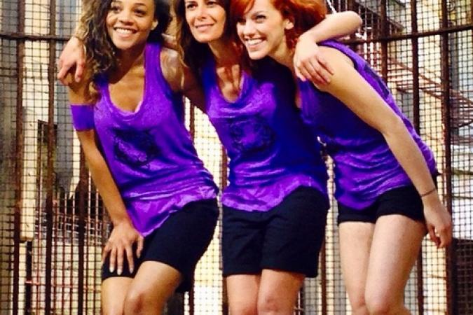 Fort Boyard 2015 : Les filles de l'équipe 8 (27/05/2015)