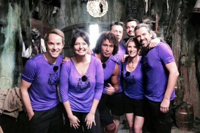Fort Boyard 2015 : L'équipe 9 au complet (28/05/2015)