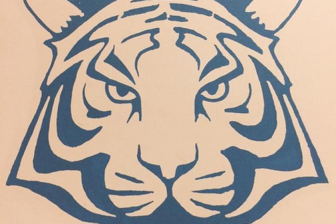 Fort Boyard 2015 : La tête de tigre bleue de la Salle du Jugement (01/06/2015)