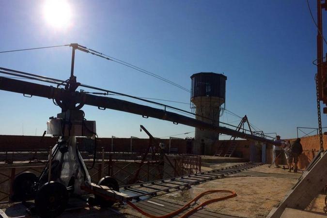 Fort Boyard 2015 : Beau soleil depuis la terrasse (04/06/2015)