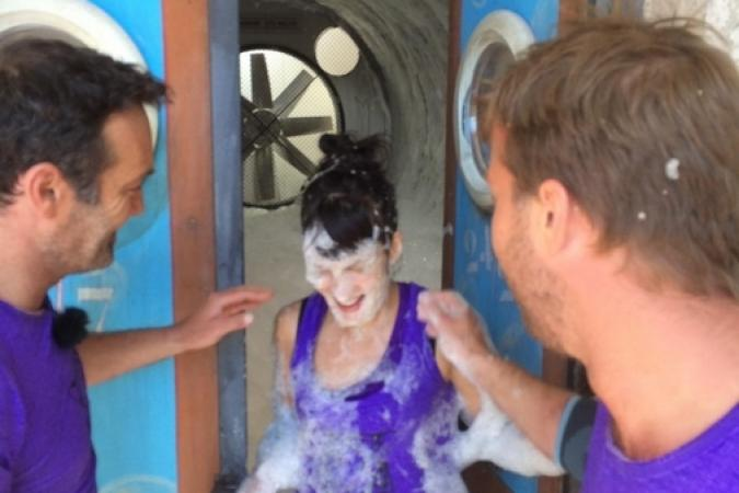 Fort Boyard 2015 : Photo d'Olivier de l'émission 4 (18/07/2015)