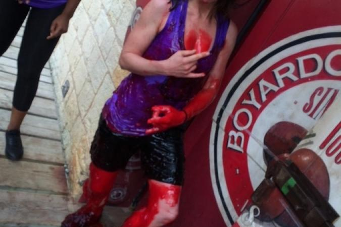 Fort Boyard 2015 : Photo d'Olivier de l'émission 6 (01/08/2015)