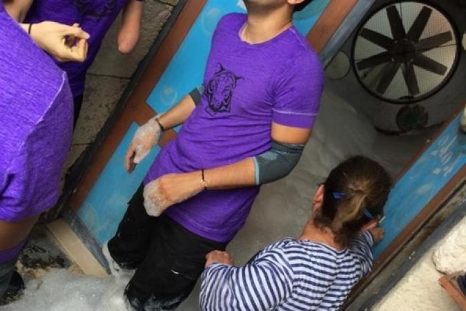 Fort Boyard 2015 : Photo d'Olivier de l'émission 10 (29/08/2015)