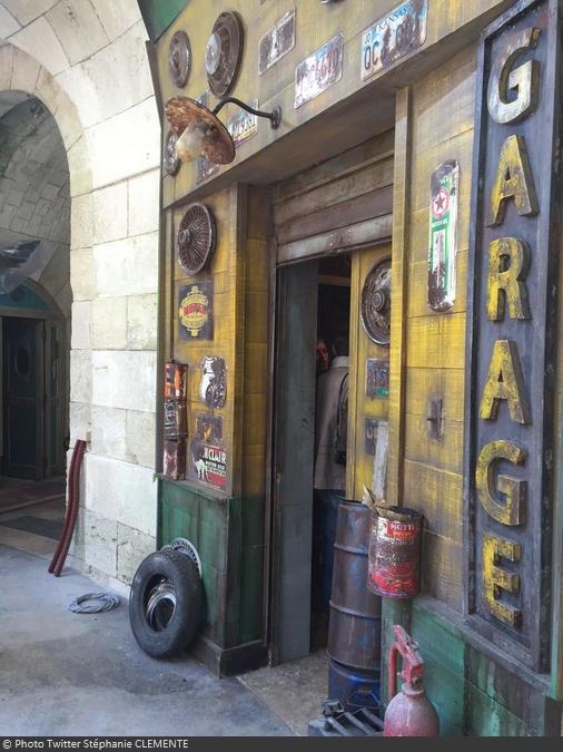 Fort Boyard 2015 : Porte de la nouvelle épreuve du Garage (15/05/2015)