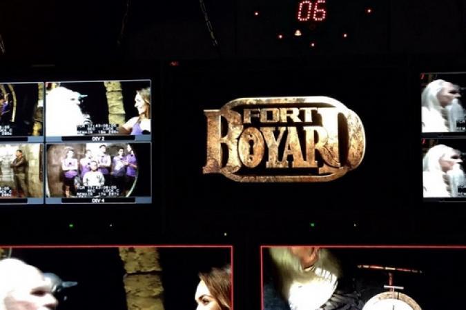 Fort Boyard 2015 : Aperçu du tournage en cours depuis la régie (18/05/2015)