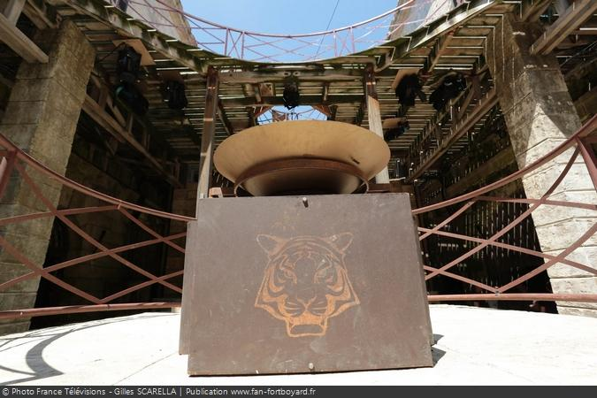 Fort Boyard 2016 - La balance de la pesée
