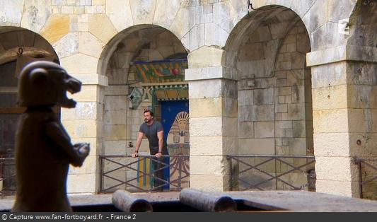 Fort Boyard 2016 : Olivier Minne ouvre l'émission depuis un lieu du fort