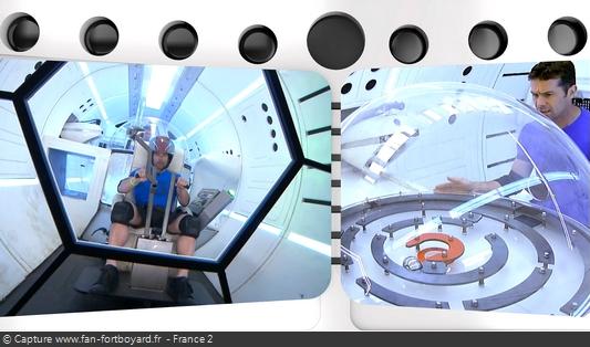 Fort Boyard 2016 : La nouvelle épreuve du Vaisseau spatial