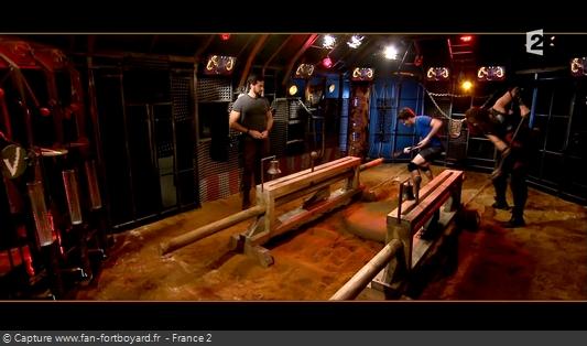 Fort Boyard 2016 : L'épreuve de la Cage (nouveau face-à-face des Masses)