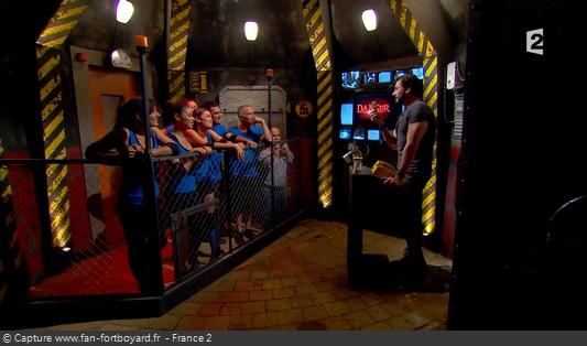 Fort Boyard 2016 : La nouvelle Salle des aventures pour présenter les jeux à venir et le joker offert aux candidats
