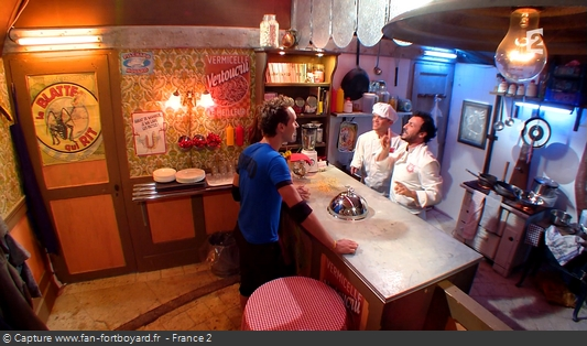 Fort Boyard 2016 : Le Chef Willy transforme son restaurant en cantine