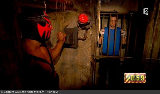 Fort Boyard 2016 : La Grande Evasion débute depuis la prison, ouverte par Mister Boo
