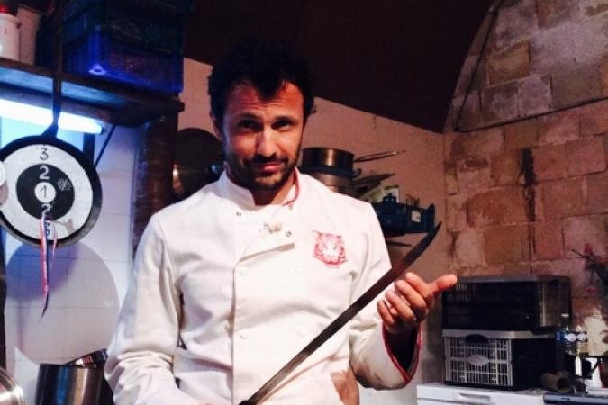 Fort Boyard 2016 - Willy Rovelli dans son restaurant (02/06/2016)
