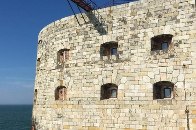Fort Boyard 2016 - La façade et le saut extérieur (09/06/2016)