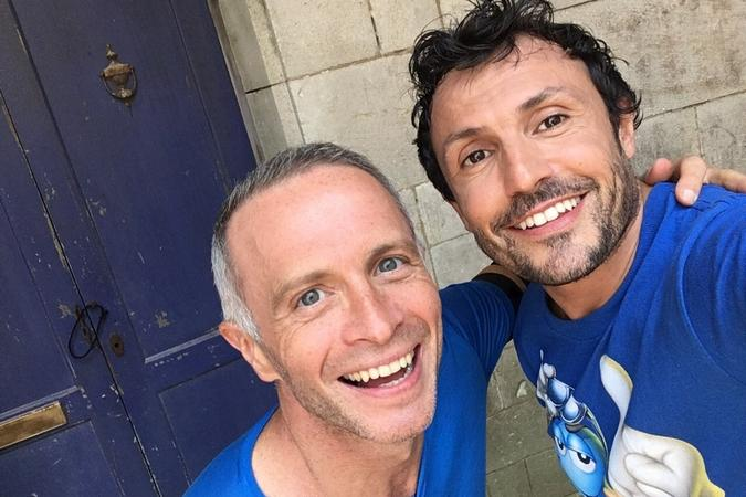Fort Boyard 2016 - Samuel Etienne et Willy