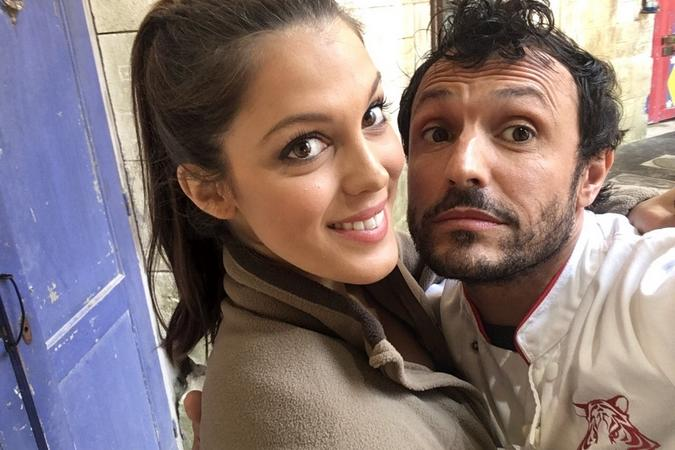 Fort Boyard 2016 - Iris MITTENAERE et Willy ROVELLI(07/06/2016)
