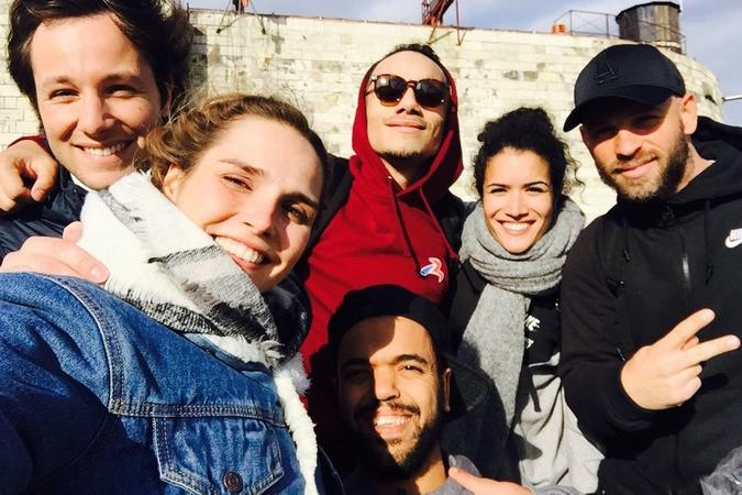 Fort Boyard 2016 - Souvenirs de tournage pour l'équipe 2 (01/06/2016)