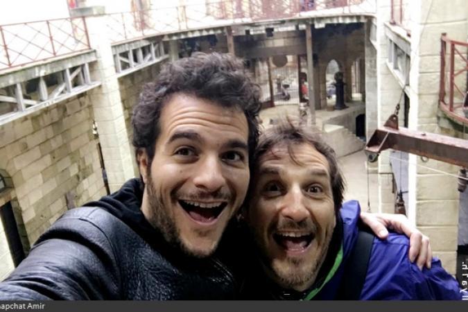 Fort Boyard 2016 - Amir et Philippe Auriel découvrent le Fort Boyard (01/06/2016)
