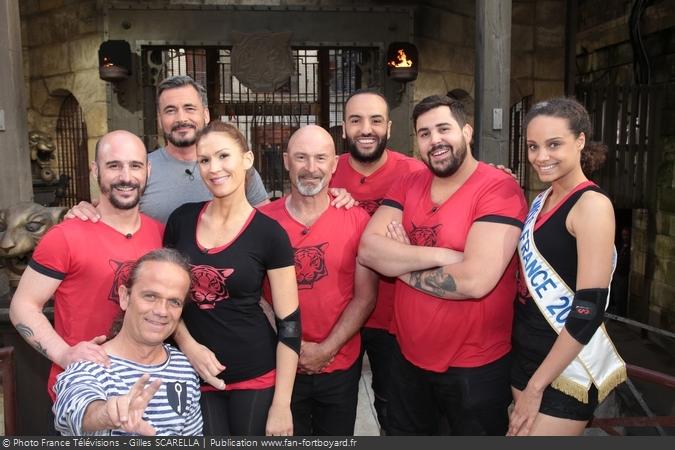 Fort Boyard 2017 - Equipe 1 - Miss France (24/06/2017)
