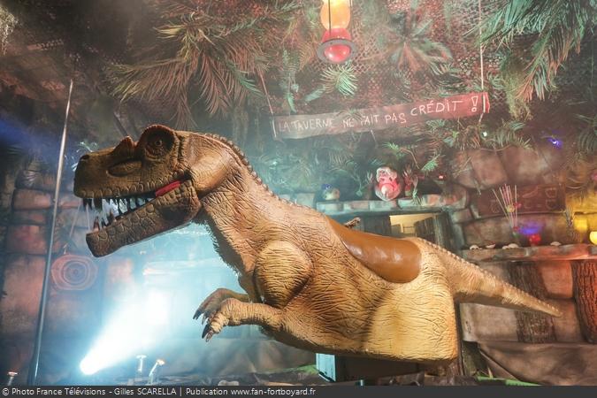 Fort Boyard 2017 - L'épreuve du Rodéo Dino