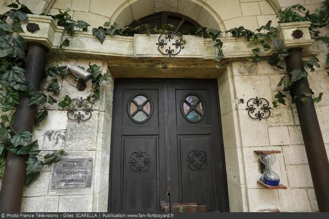 Fort Boyard 2017 - La porte de l'épreuve de la Cellule capitonnée