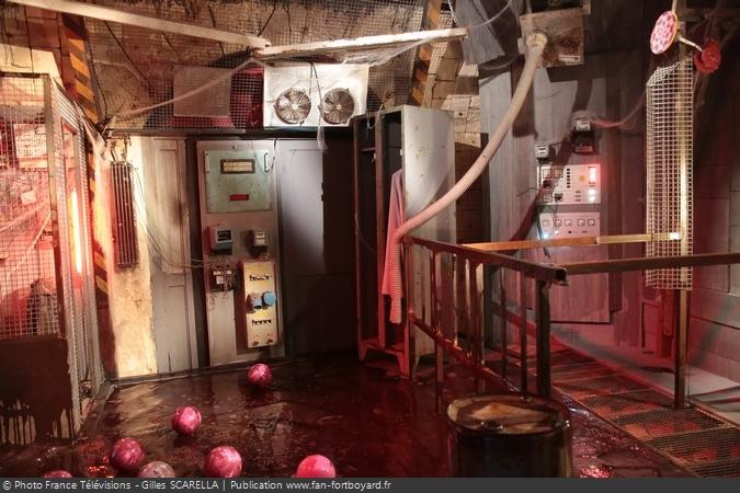 Fort Boyard 2017 - Nouvelle version de l'épreuve de l'Araignée