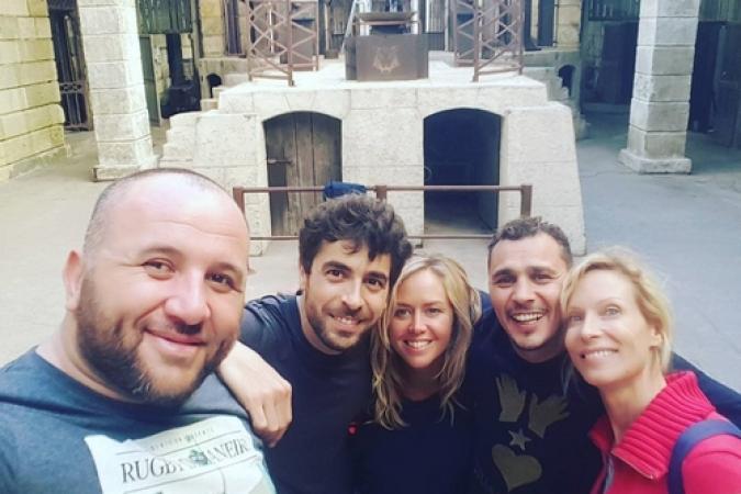 Fort Boyard 2017 - Equipe tournage 3 (24/05/2017)