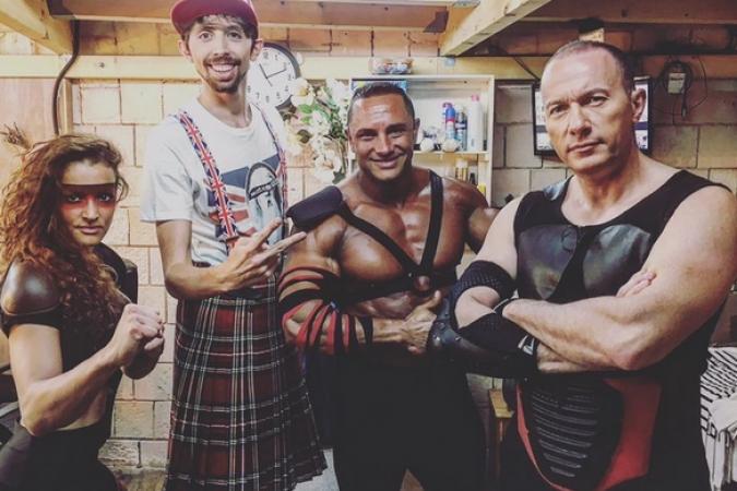 Fort Boyard 2017 - Lado Boo, Eric Lampaert, Mister Boo et Pascal Soetens (28/05/2017)