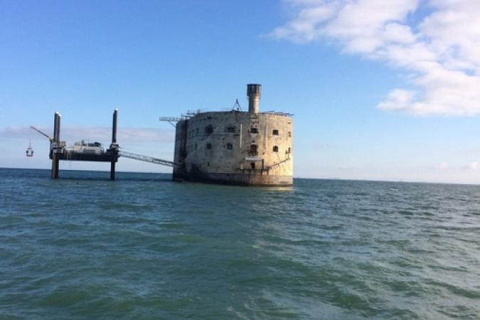 Fort Boyard 2017 - Arrivée au fort (30/05/2017)