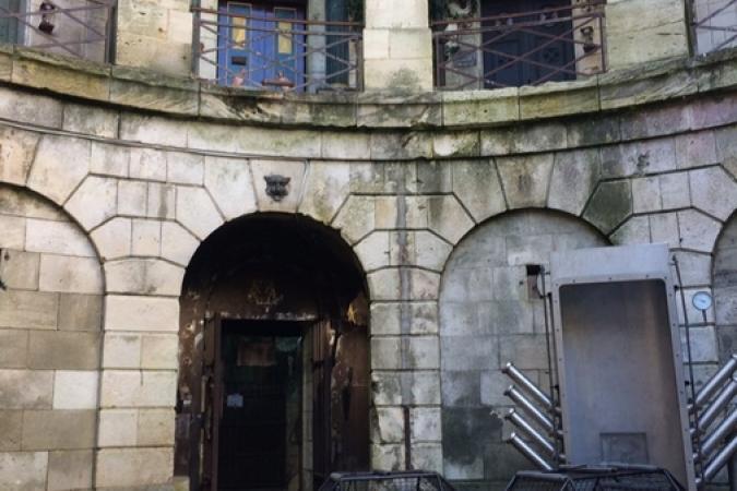 Fort Boyard 2017 - La cour intérieure (01/06/2017)
