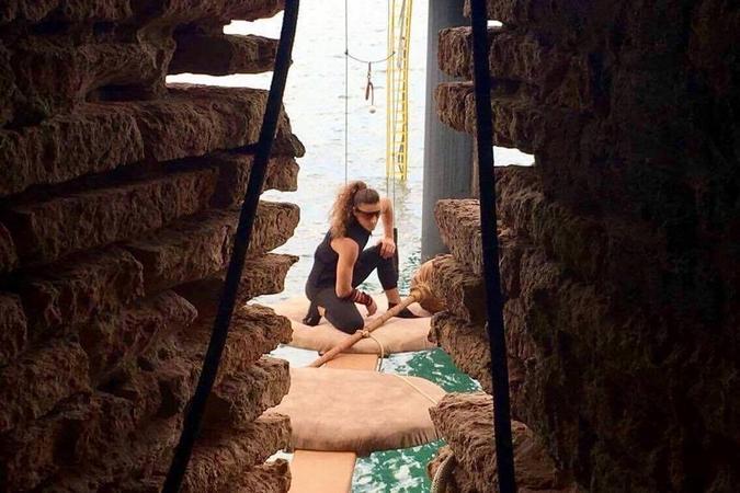Fort Boyard 2017 - Lady Boo sur les cotons-tiges (01/06/2017)