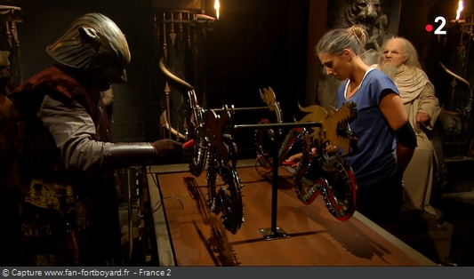Fort Boyard 2018 : Le nouveau duel des Dragons au Conseil