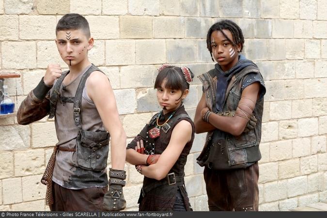 Fort Boyard 2018 - Enfants du Fort (Ange, Maï-Linh, Damani)