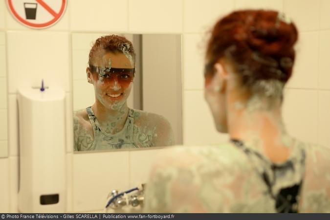 Fort Boyard 2018 - Lady Boo à la douche