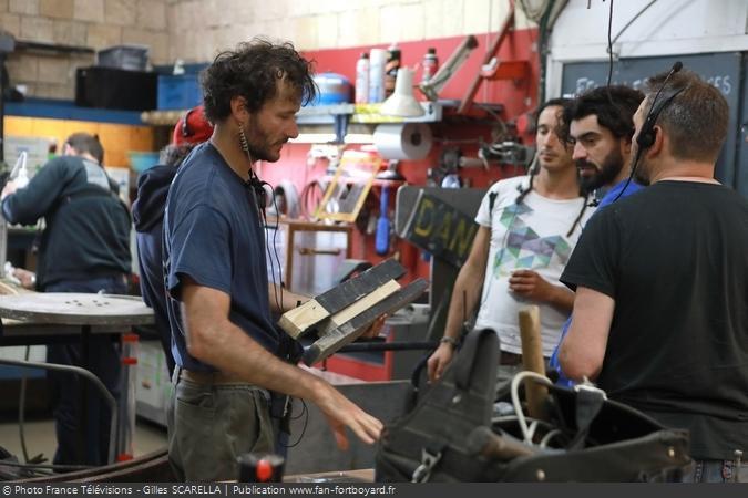 Fort Boyard 2018 - Atelier de construction
